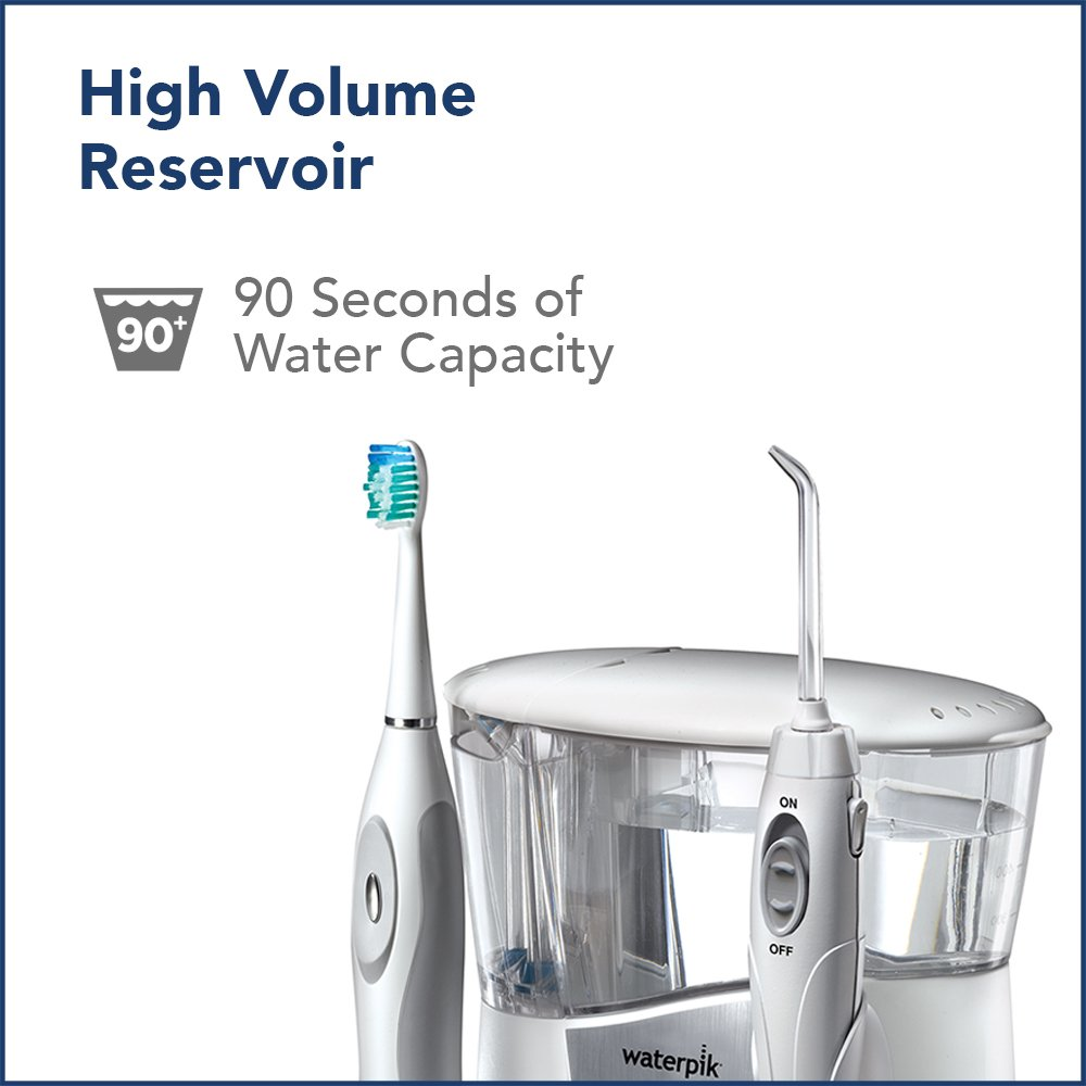 Waterpik Ortho Care Water Flosser + Sonic Toothbrush by Waterpik (Image #14)