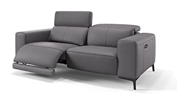 Ledersofa Relaxsofa Heimkino Sofa Funktionssofa Sofa Couch TV Sessel