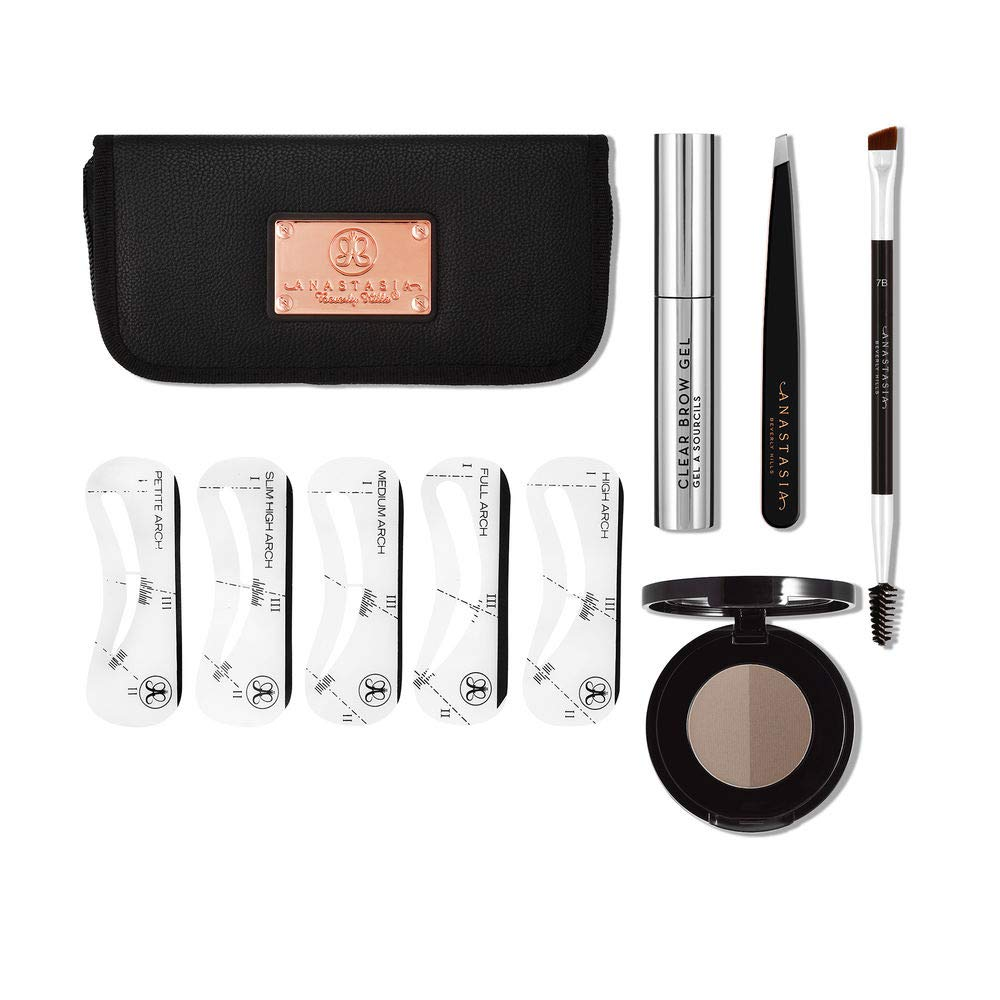 Anastasia Beverly Hills Brow Kit Taupe Eyebrow Ql Cream 15gr Makeup Beauty