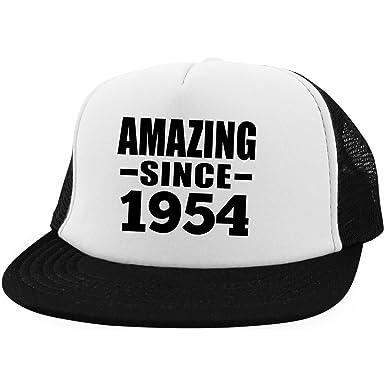 Birthday Gift Idea Amazing Since 1954 - Trucker Hat Golf Baseball Cap Funny  Happy Gag for 21b58c50fbfd