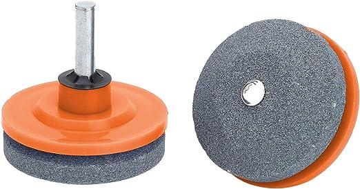 Lawnmower Blade Sharpeners Heavy Duty Corundum Lawn Mower Sharpener Universal Grinding Rotary Drill Cuts