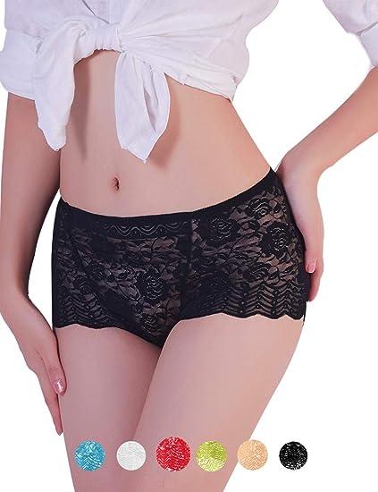 3e330cb2eb QOVOQ Women s Lace Underwears Lingerie Briefs