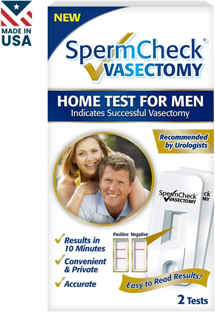 Spermcheck Vasectomy Home Sperm Test Kit Fsa Hsa Eligible