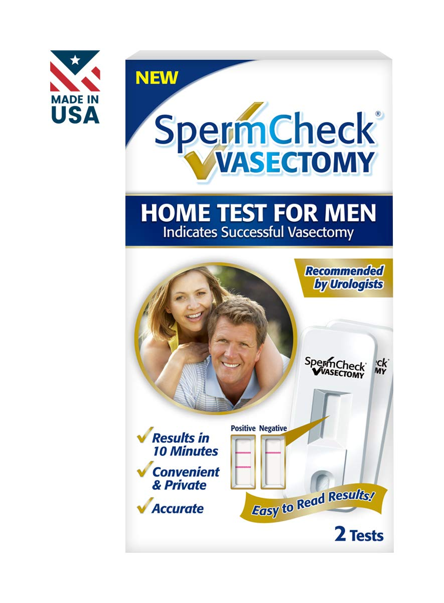 Spermcheck Vasectomy Home Sperm Test Kit | FDA-Cleared by SpermCheck