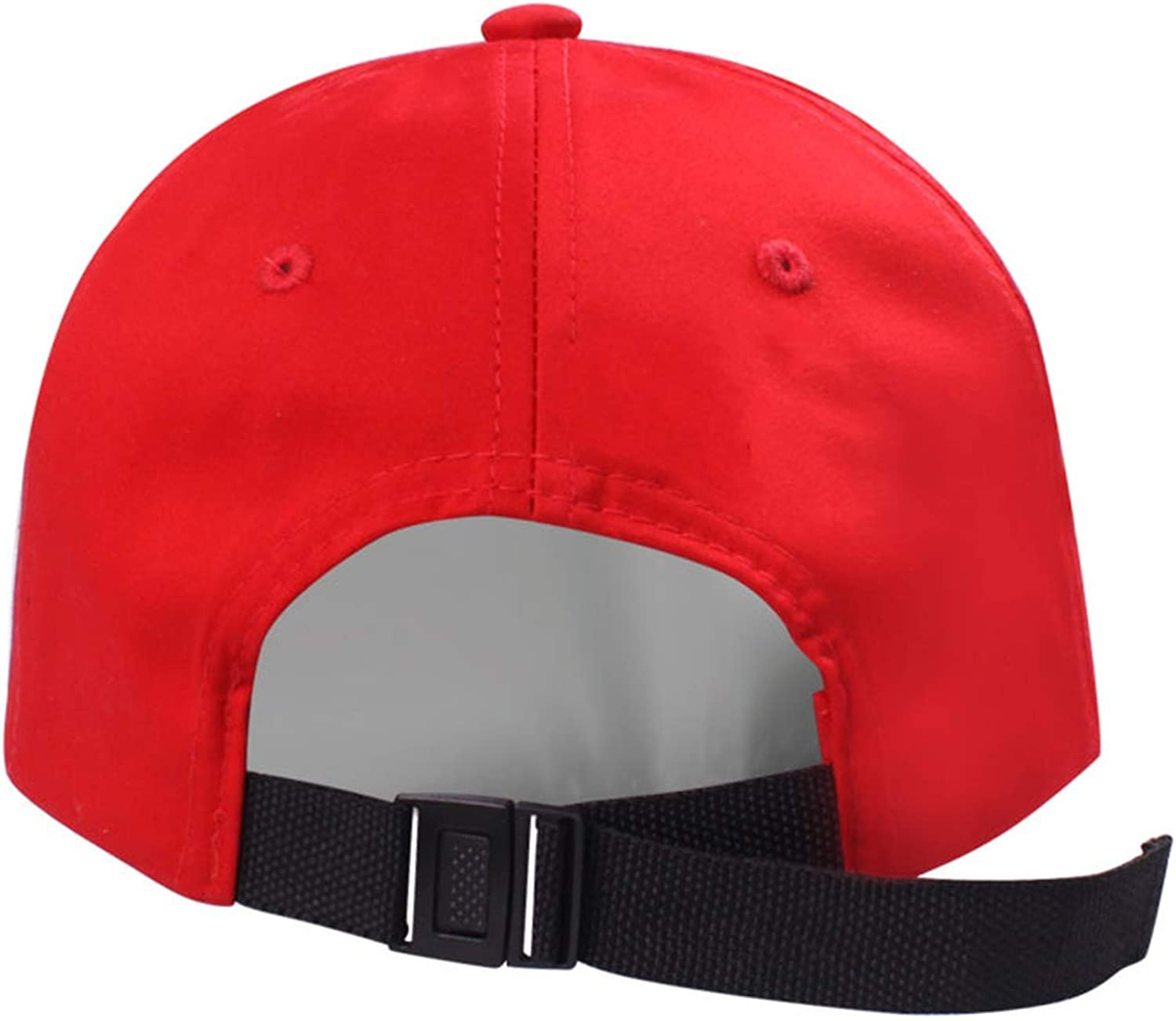 Spring New Unisex Cotton Red Baseball Cap Embroidery Letters Caps Baseball Hat Adjustable