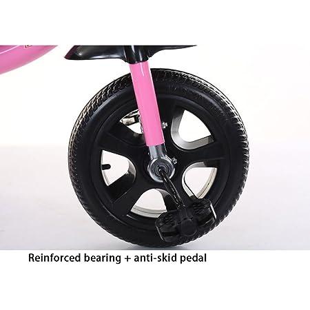 Fenfen Triciclo para niños Bicicleta para bebés Carruaje para bebés Bicicleta de acero con alto contenido de carbono 2-8 años Triciclo para bebés, ...