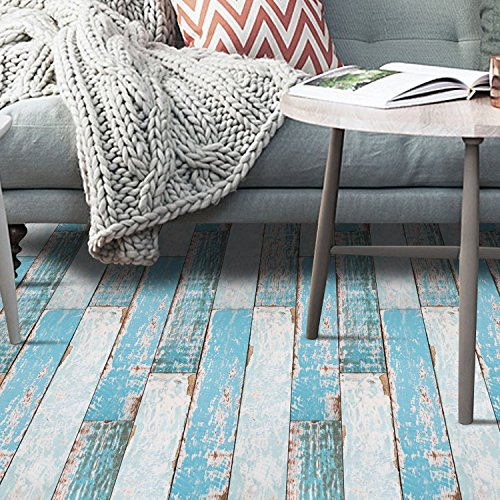 VANCORE Rustic Wood Grain Contact Paper Self-Adhesive Shlef Decal Floor Stickers 7.9 x 196 Inch