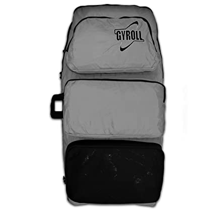 57aa943ea0a9 Amazon.com   Gyroll Mike Stewart Ultra Light Double Board Bag - Grey ...