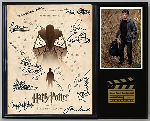 HARRY POTTER DEATHLY HALLOWS PART 1 REPROD. MOVIE SCRIPT CINEMA DISPLAY C3
