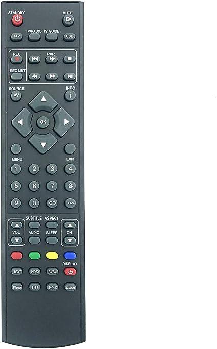 Mando a Distancia de Repuesto RMU/RMC/0006 RM18G28 para TV ...