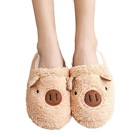 84a109eabacde Amazon.com: YJYdada Slippers, Lovely Women Flip Flop Cute Pig Shape ...