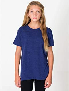 product image for American Apparel Youth Tri-Blend Youth Short-Sleeve T-Shirt