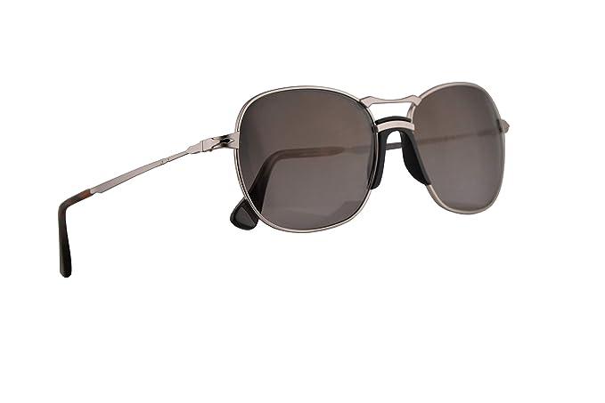 Persol PO2449S gafas de sol w/polarizado gris oscuro gradual ...