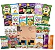 Deluxe College / Military Healthy Snacks Care Package (30 Count) by The Good Grocer