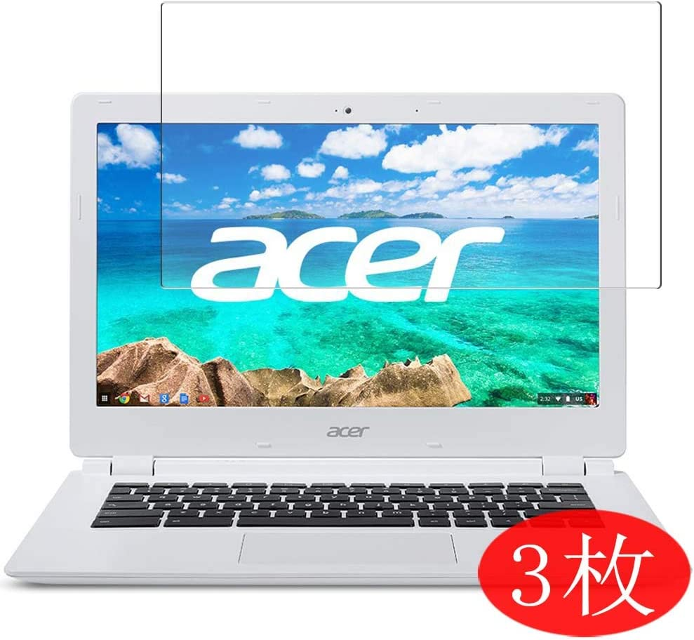 """【3 Pack】 Synvy Screen Protector for Acer Chromebook CB3-111-H14M 11.6"""" TPU Flexible HD Clear Case-Friendly Film Protective Protectors [Not Tempered Glass]"""