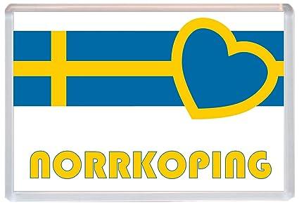 norrkoping - Suecia/sueco pueblos y ciudades de amor - Jumbo imán ...