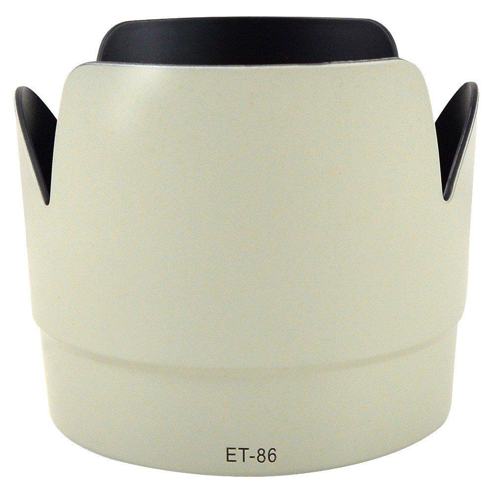 EF 100mm F//2 USM EF 70-210mm F//3.5-4.5 USM EF 135mm F//2.8 SF EF 75-300mm F//4-5.6 MENGS/® ET-65 III Paraluce per Canon EF 85mm F//1.8USM EF 100-300mm F//4.5-5.6 USM