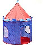 SueSport SUSBT4053R Boy's Prince Castle, Children Play Tent, Blue