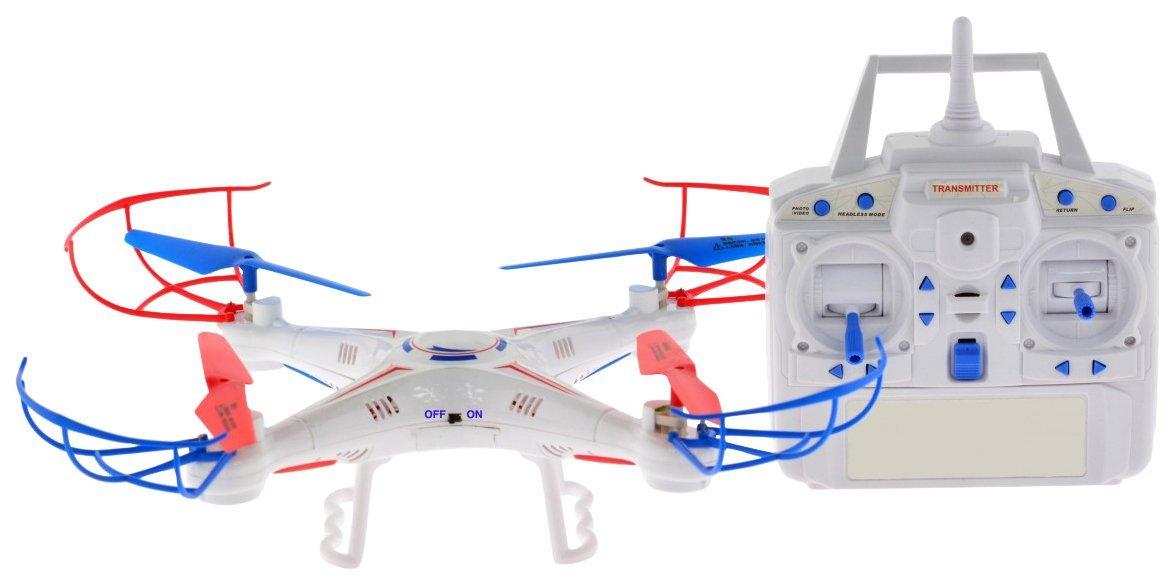 CIS-Associates Entry level Quadcopter with 1 Key Return /& Headless Mode 12 12 Carmel RC White Toys CIS-115