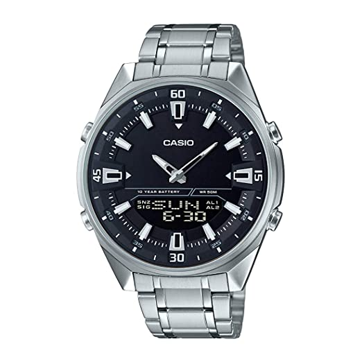 Amazon.com: Casio amw830d-1av reloj de Hombre, Acero ...