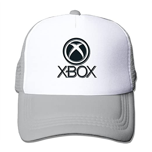 1c241e4989cdd XBOX Video Game Snapback Trucker Mesh Men Women One Size Fits Most Hats Caps  Ash