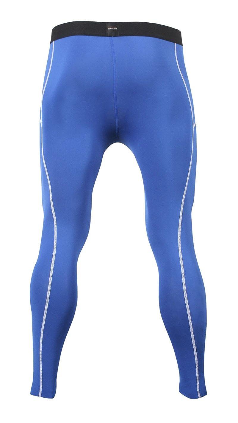 NovaLava Mens Womens Compression Tights Under Leggings Base Layer Tight Pants A6 Nova PANTS LONG BLUE 054 3XL 250G#6