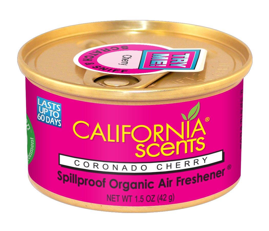 California Scents Can-1207Coronado Cerise Désodorisant, Lot de 12