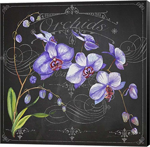 Orchids 1 by Jean Plout - vintage floral wall decor