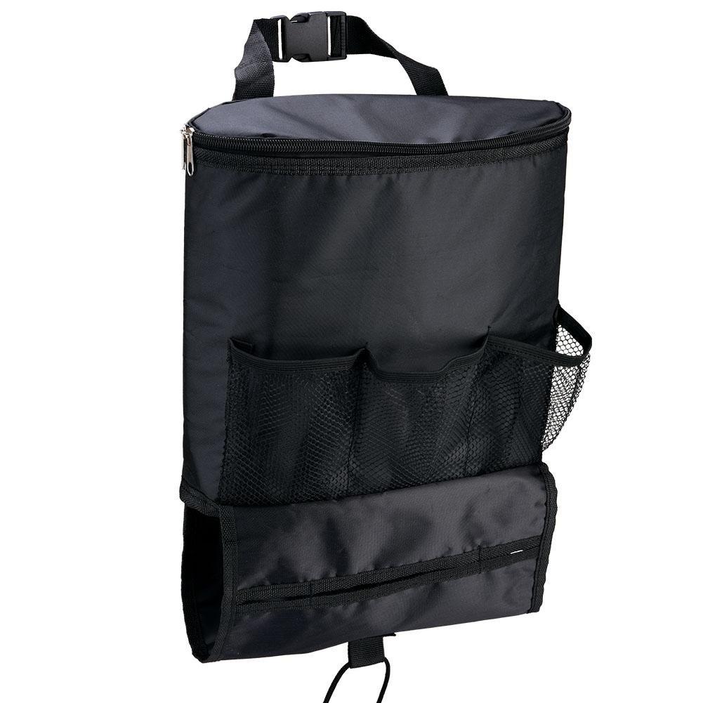 Car Seat Back Organizer, Multi-pocket Travel Storage Pocket Bag Insulated Car Seat Drinks Holder Cooler (Heat-Preservation) VGEBY