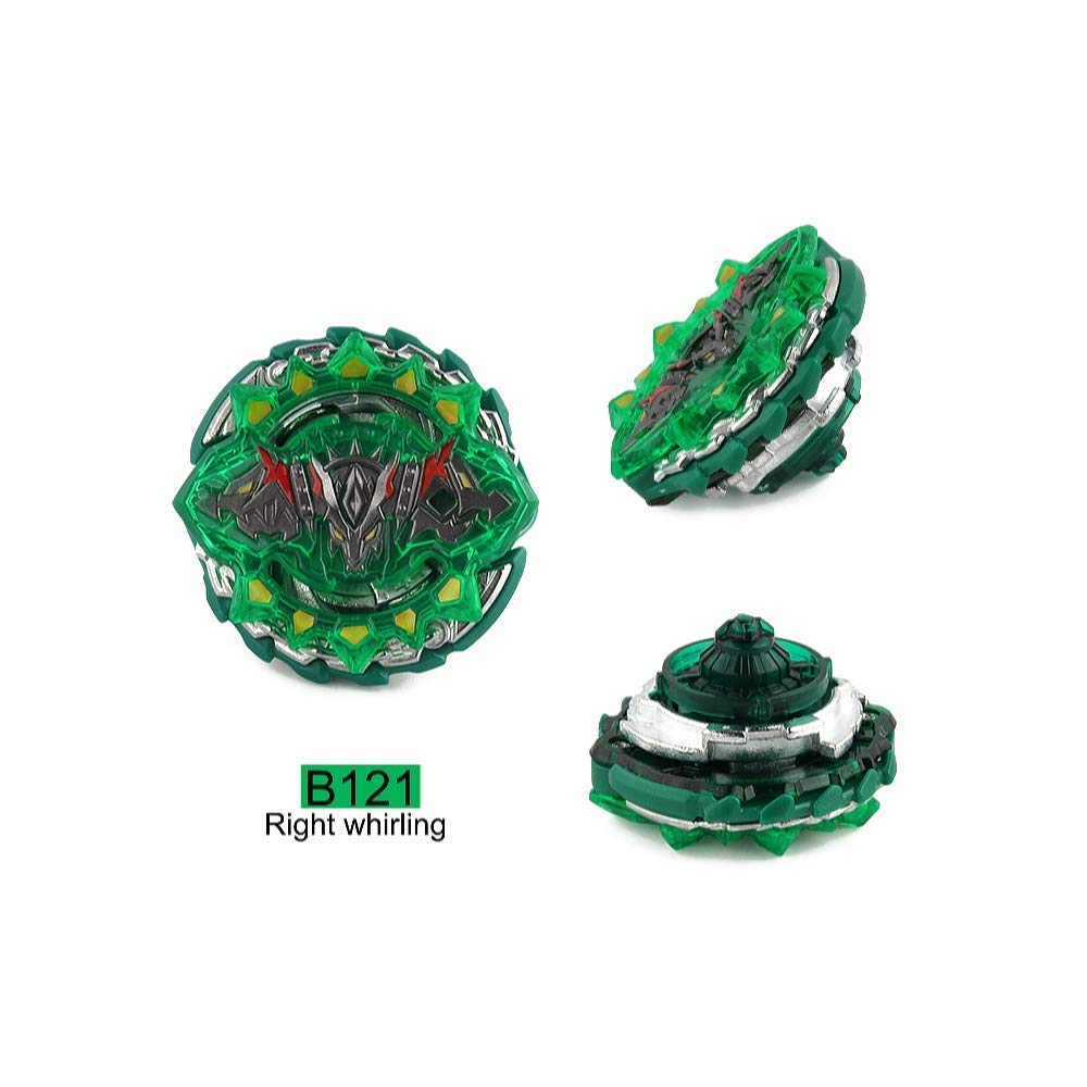 Dey-Tey Burst Battle Evolution Attack Gyro Set with Two 4D Launcher Grip Starter and Stadium(4 in 1) by Dey-Tey (Image #4)