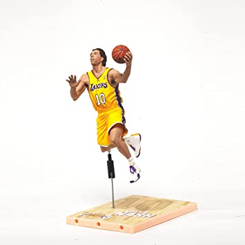 McFARLANE SPORTSPICKS NBA SERIES 22 STEVE NASH L.A. LAKERS FIGURE