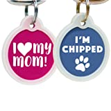 Funny Dog and Cat Tags Personalized w/ 4 Lines of