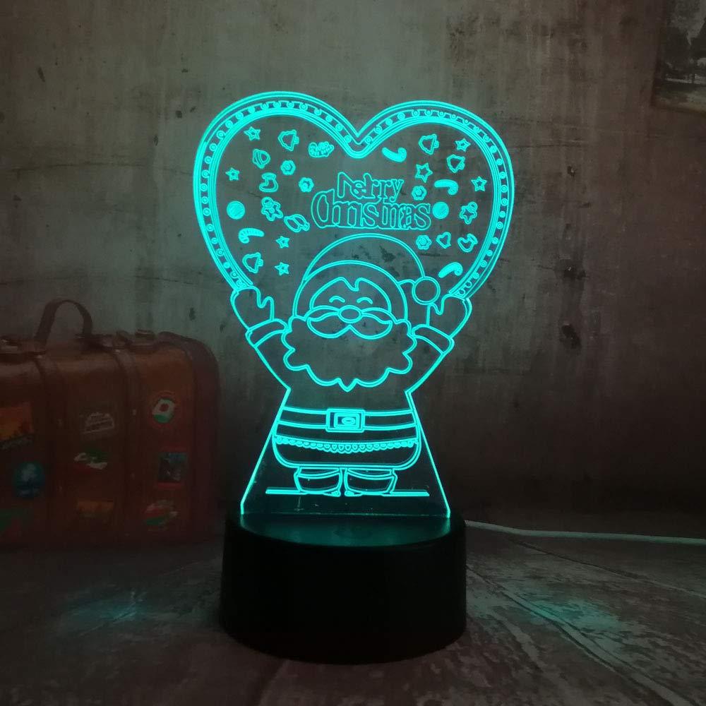 wangZJ Lámpara de ilusión visual 3d / lámpara de escritorio ...