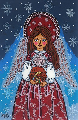 Folk Art Christmas Decorations - 6
