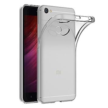 iVoler Funda Carcasa Gel Transparente para Xiaomi Redmi Note 5A / Xiaomi Redmi Note 5A Prime, Ultra Fina 0,33mm, Silicona TPU de Alta Resistencia y ...