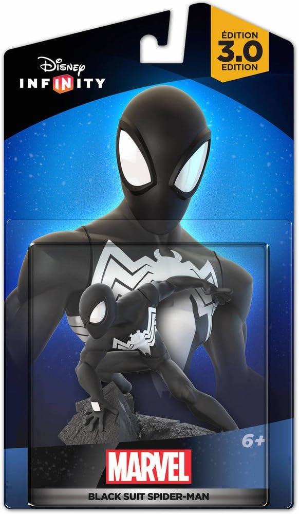 Disney Infinity 3.0 - Marvel Figura Black Suit Spiderman