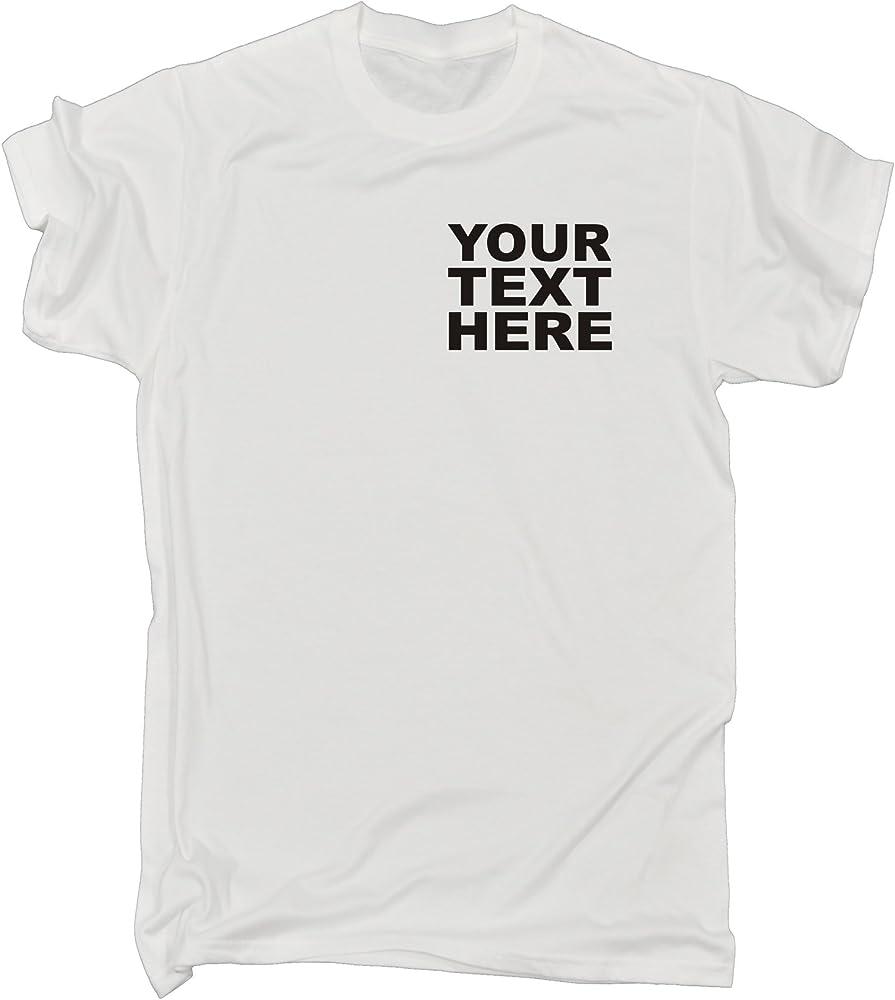 123t Slogans - Camiseta para Hombre, diseño Personalizado con ...