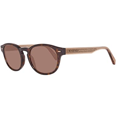 b71c66719a Image Unavailable. Image not available for. Color  Ermenegildo Zegna  Sunglasses Dark Havana Ez0029-52j