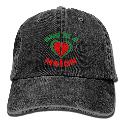 Hgjoafnkln One in A Melon Adults Adjustable Cowboy Cap Denim Hat for Outdoor