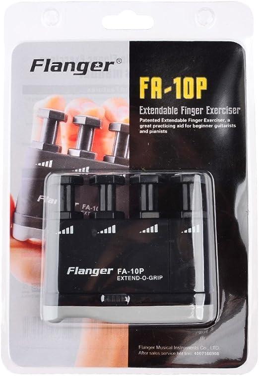 Flanger Guitar Adjustable Finger Strengthener Exerciser Extendable Hand Trainer