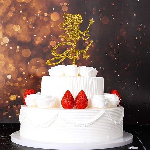 Enjoyable 6Th Girl Birthday Cake Topper Little Girl Birthday Decoration Funny Birthday Cards Online Elaedamsfinfo