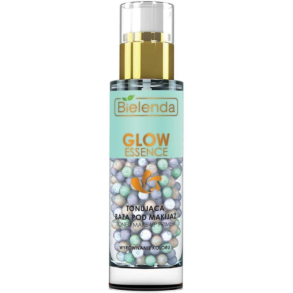 Bielenda Glow Essence Toned Make-up Primer 30g Toning Gel Pearls every Skin Type