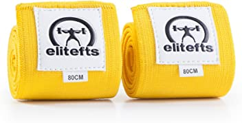 82ed98d755 EliteFTS JAVELIN WRIST WRAPS - POWERLIFTING, WEIGHTLIFTING, CROSSFIT, BENCH  WRAPS