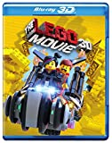 DVD : Lego Movie The (3D Blu-ray + Blu-ray + DVD +UltraViolet Combo Pack)