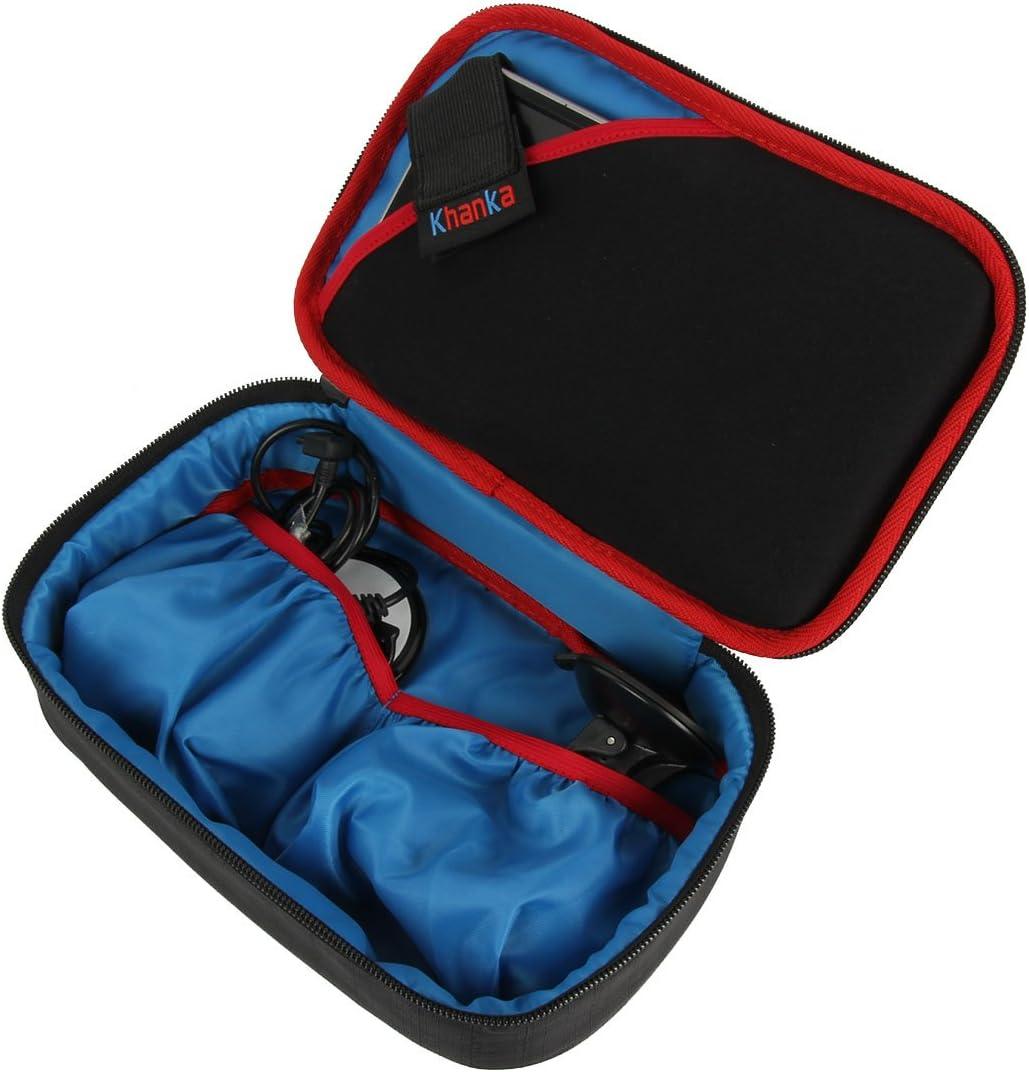 Khanka Storage Carrying Travel Case Bag for 6-7 inch Garmin DriveSmart 70 NA LMT GPS Navigator System Hard