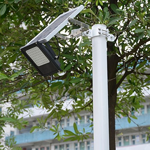 Solar Flood Light Outdoor, MYM 120 LED IP65 Waterproof Dusk to Dawn Solar Security Flood Light for Flag Pole,Sign,Garden,Farm,Shed,Camping,Boat,Garage,Auto-on/Off,5M Extended Cord Included by MyM (Image #2)