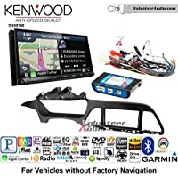 Volunteer Audio Kenwood DNX874S Double Din Radio Install Kit with GPS Navigation Apple CarPlay Android Auto Fits 2015 Hyundai Sonata