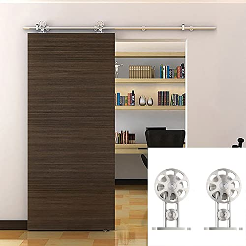 Hahaemall Classic Stainless Steel Interior Double Sliding ...
