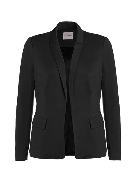 purchase cheap 88d21 21731 Fiorella Rubino: Blazer Donna in Jersey. Nero, Taglia XL ...