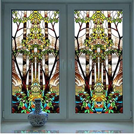 30 étoiles Autocollant Fenêtre Images Mural Fenêtre Auto-adhésif
